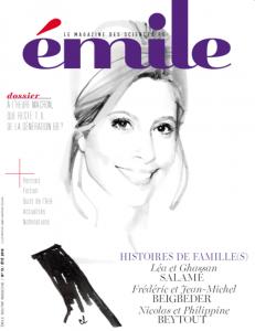 Couverture Emile, le Magazine des Sciences Po, Eté 2018